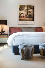 Bedroom Rustic - rustic platform beds bedroom transitional with aged wood bed