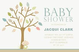 baby shower tree baby shower