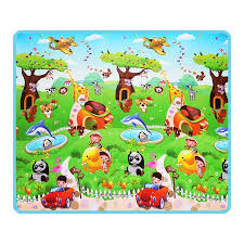 Kid Play Rug Waterproof Baby Play Mat Children Kid Play Rug Crawling
