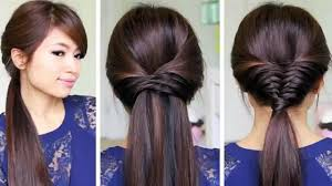 easy and quick hairstyles for school dailymotion criss cross braid hair tutorial french fishtail cheat easy