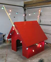 snoopy doghouse christmas decoration stylist design 6 snoopy dog house plans building snoopys for