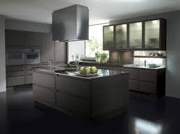 cuisine ilot central cuisson cuisine avec ilot central comprenant plaque de cuisson et plan de