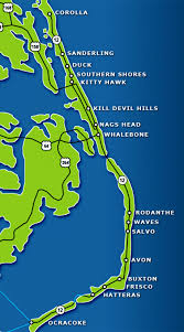 Map Of Outer Banks Fishing The Outer Banks