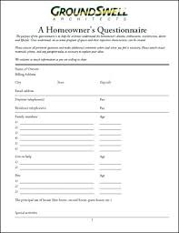 home design questionnaire interior design client questionnaire kitchen design questionnaire
