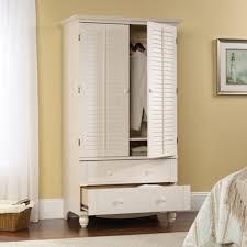 white wardrobe armoire with mirror white painted 1 door main