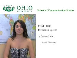 Examples Of Persuasive Essays For College Students Public Speaking Course Coms 1030 U2013 Of Communication Studies