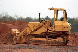 free images tractor ground dirt soil industrial blue