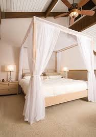 Four Poster Bed Curtains Drapes Love A Big Cosy Bed And This Bed Canopy Is Gorgeous X Beach