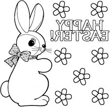 easter bunny drawing easter bunny coloring only coloring pages