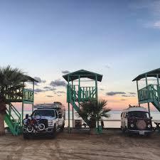 volkswagen bus beach saludos from san felipe in beautiful baja california mexico on