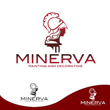 Home Decoration Logo New Logo Design For Minerva Painting U0026 Decorating Ltd Hiretheworld