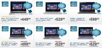 best buy releases black friday 2012 preview ad laptop desktop