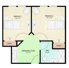 floor plan diagram senior apartments assisted living tucker ga