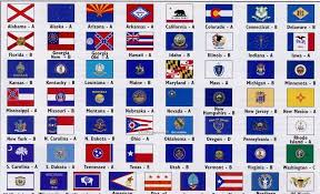 All 50 Flags 7 Best Images Of All 50 State Flags Printables Flags From All 50