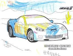rick corvette conti blog archive zr1 coloring contest