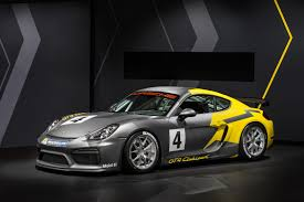 porsche cayman premiere for the porsche cayman gt4 clubsport