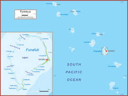map of tuvalu tuvalu map academia maps