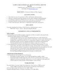 List Computer Skills Resume Interesting Great Computer Skills Resume With Additional Puter