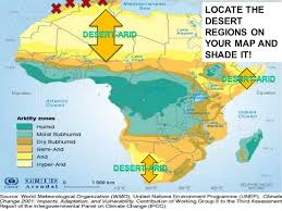 us desert map what does this picture tell us about the of africa ppt