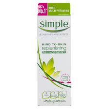 simple protecting light moisturizer spf 15 review simple replenishing rich moisturiser 125ml at wilko com