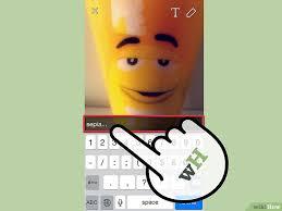 bikin video animasi snapchat cara mendapatkan efek di snapchat wikihow