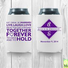 wedding koozie quotes best personalized koozies for wedding products on wanelo
