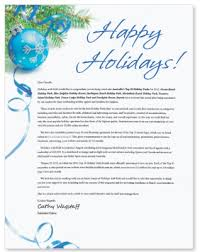 how to write a personalized christmas message on behalf of the