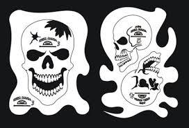 how to airbrush skulls