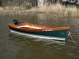 wooden motorboat kit