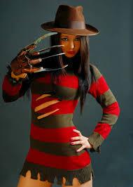 Freddy Krueger Halloween Costume Kids Womens Halloween Freddy Krueger Costume Ladies