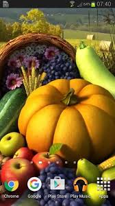 thanksgiving 3d live wallpaper android apps on play