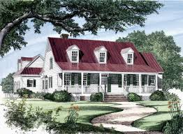 Country Cottage House Plans With Porches Low Country House Plans Southern Living With Porches Sl 187 Hahnow