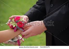wrist corsage for prom prom corsage stock images royalty free images vectors