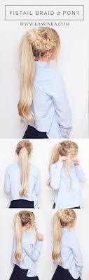 pony hair fishtail braid 2 pony hair tutorial kassinka