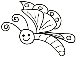 free printable butterfly coloring pages for kids within eson me