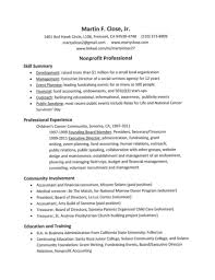 Sample Resume Objectives For Social Services by Resume For Non Profit Job Resume For Your Job Application
