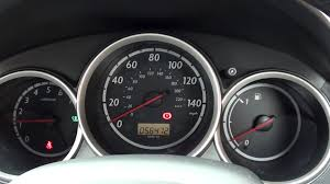 Honda Warning Lights Honda Jazz Engine Start Dash Warning Lights Youtube