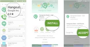 make free wi fi calls with google hangouts for android