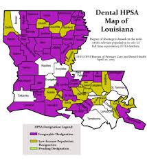Louisiana State Map by Louisiana Resources Rural Health Information Hub