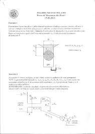 dispense meccanica dei fluidi esame risolto di idraulica o meccanica dei fluidi docsity