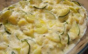 cuisiner courgettes poele gratin de courgettes simple et rapide tuyau de poêle