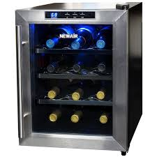 amazon com newair aw 121e 12 bottle thermoelectric wine cooler