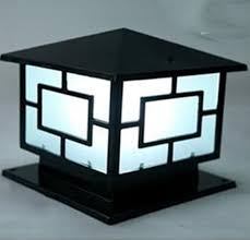 Post Light Fixtures Wall L Post European Square Ls Stigma Led Outdoor Courtyard