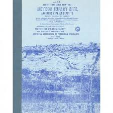 bureau meteor stgs 209g meteor impact site anacacho asphalt deposits the