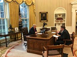 Oval Office White House Full Transcript President Donald Trump U0027s Exclusive Interview With