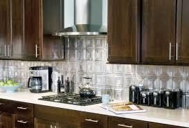 aluminum backsplash kitchen kitchen backsplash metal tiles aluminum backsplash peel and