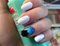 ideas a light blue nail snapguide