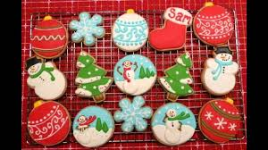 beautiful christmas cookie decorating ideas youtube