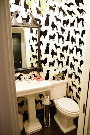 Wallpaper In Bathroom Ideas by 8 Best Cloakroom Images On Pinterest Bathroom Ideas Cloakroom