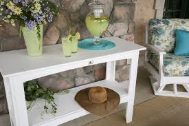 outdoor buffet table diy making your own outdoor buffet table